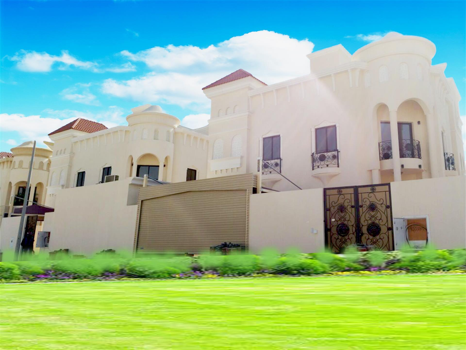 Super Luxurious!! 6 bedrooms villa for rent in Al