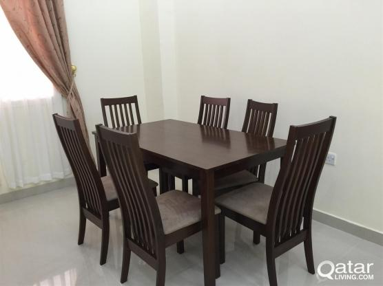 fully furnished 2 bhk apartment at al khor for ren