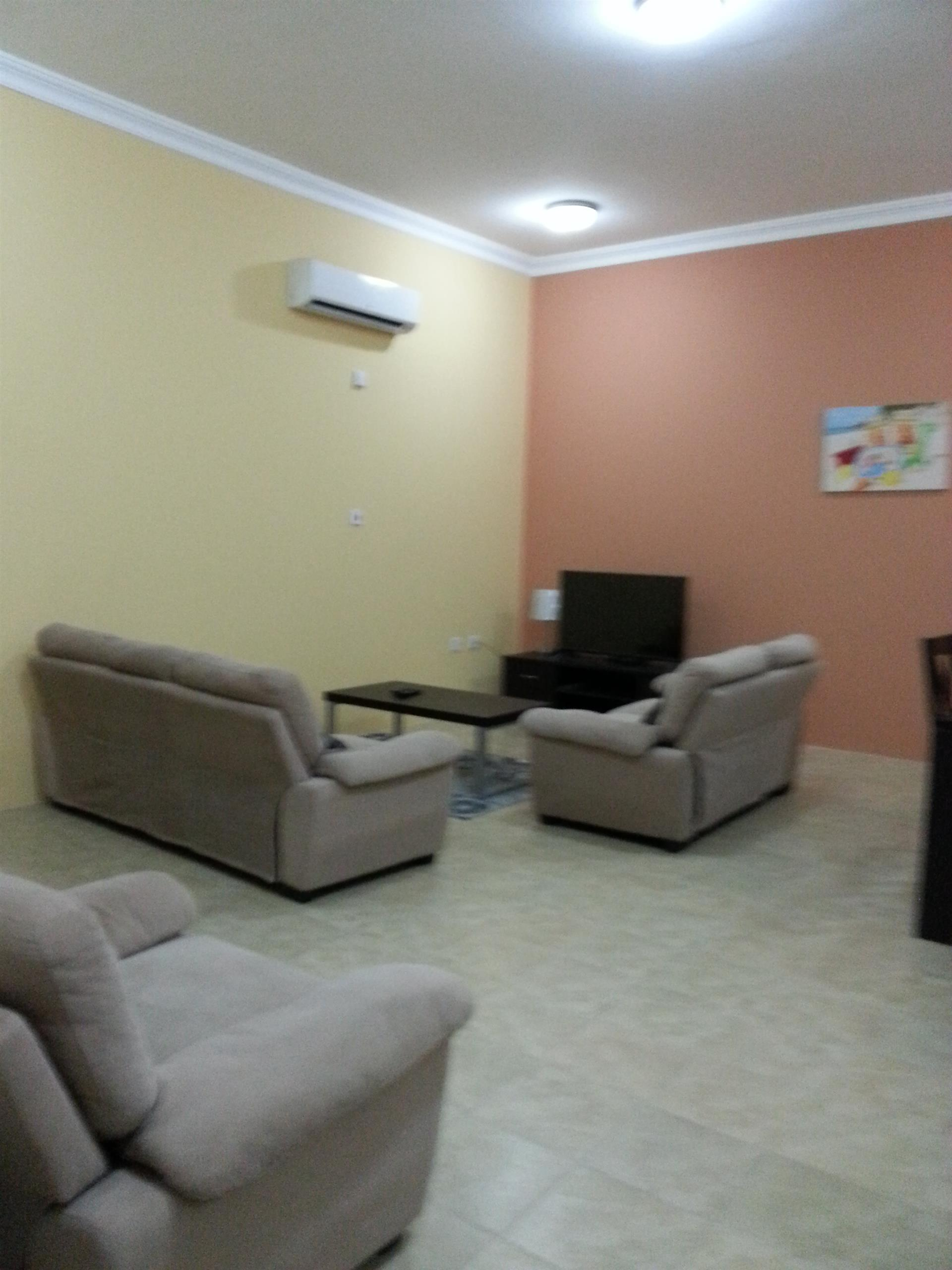 Fully-Furnished One Bedroom with Free Water and El