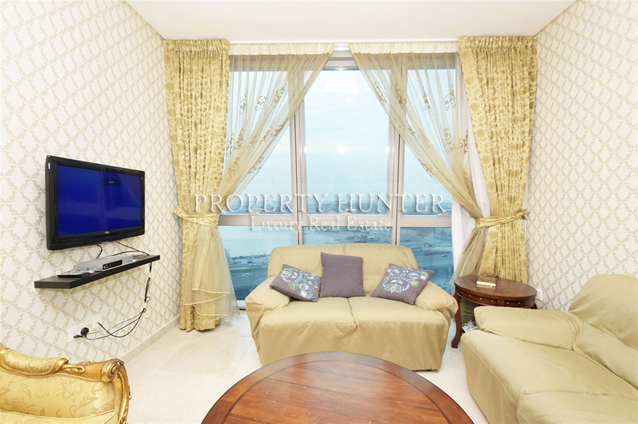 Fully Furnished 2 Bedroom Apartment in Zigzag Towe