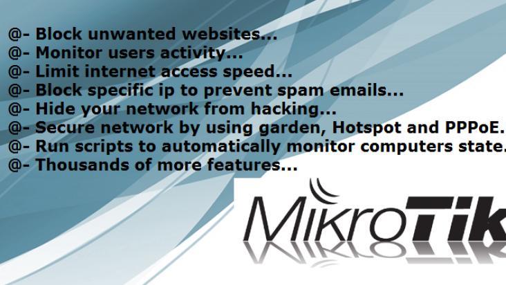 Block Facebook, YouTube & Unwanted Sites Using Mikrotik