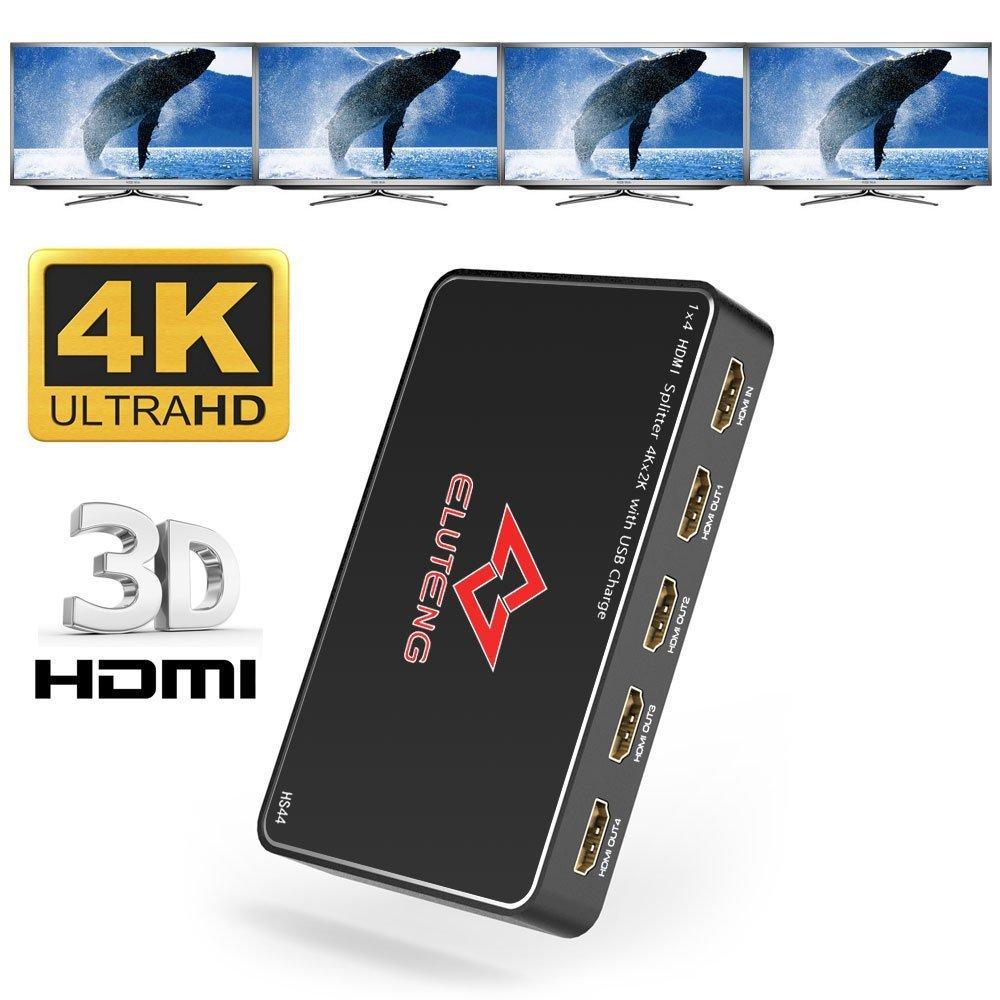 4K HDMI Splitter 1 input 2 output 4Kx2K 60Hz HDMI2 0   Qatar