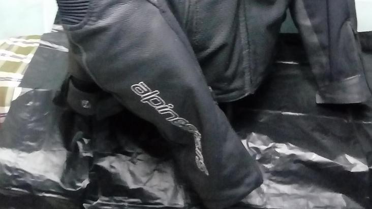 Alpinestars Devon Airflow Leather Jacket
