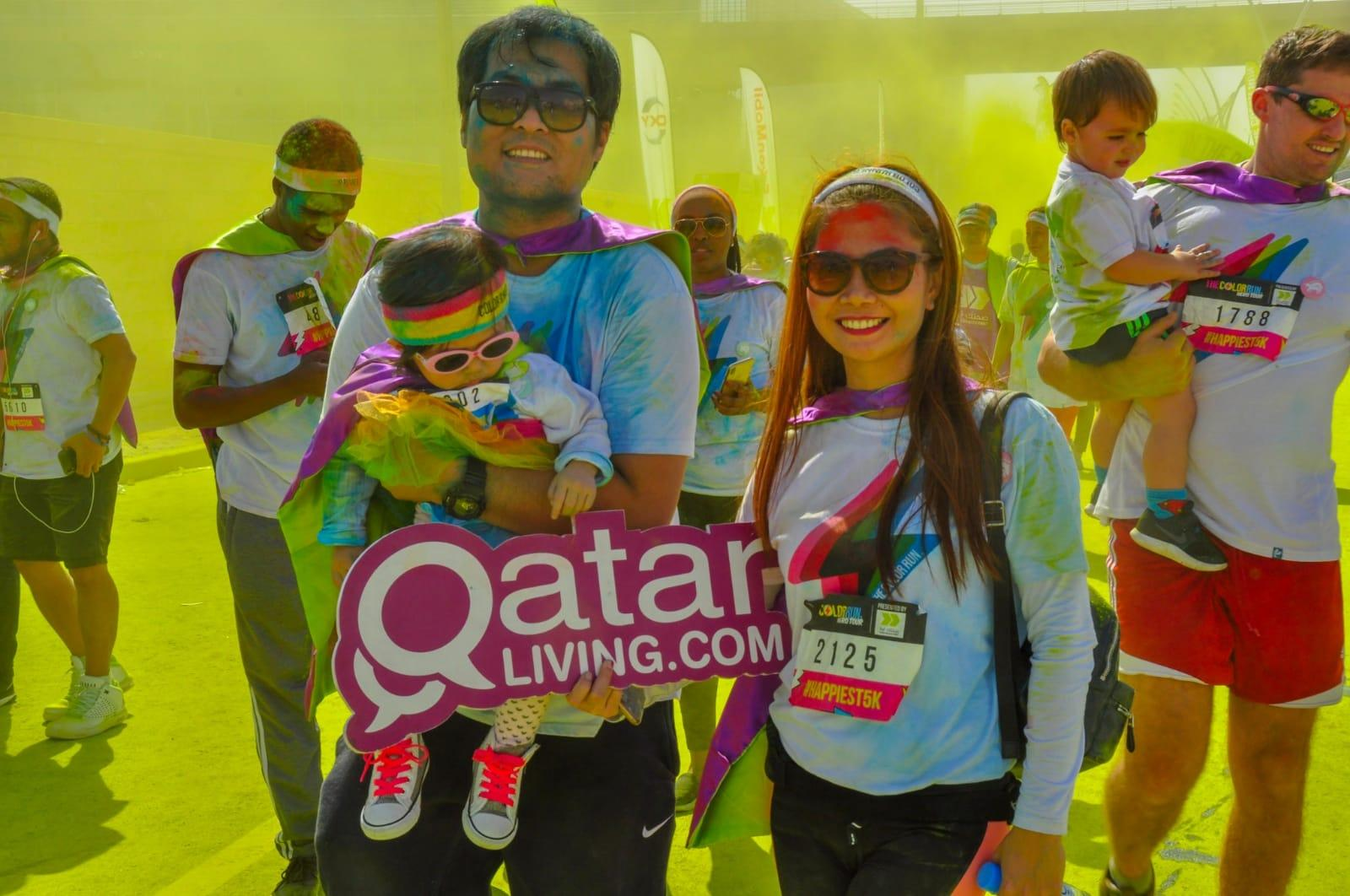 The Color Run 2020.The Color Run 2020 Qatar Living Events