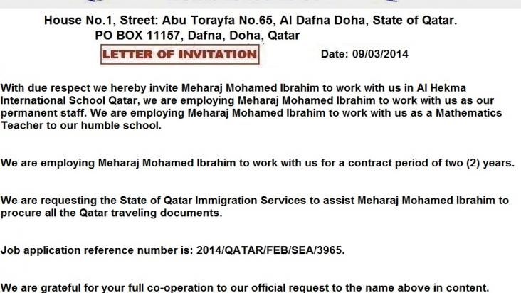 Job offer from school is it real or fake Qatar Living