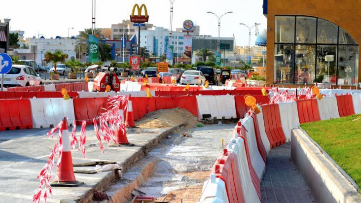 Endless road work affect many small scale businesses | Qatar
