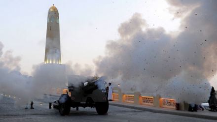 Qatar's Ramadan cannon