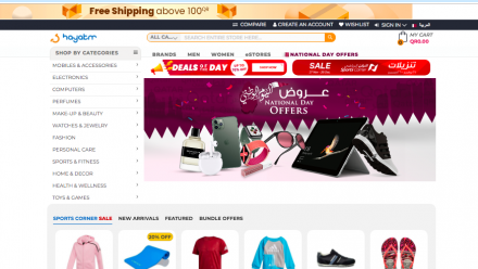 Enjoy a seamless online shopping experience with Hayakm.com