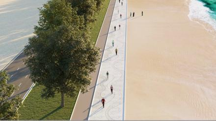 Ras Bu Abboud beach to be developed as a top leisure and tourist spot