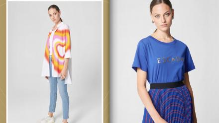 Shop Kenzo and Escada clothing online with Bin Yousef Fashion