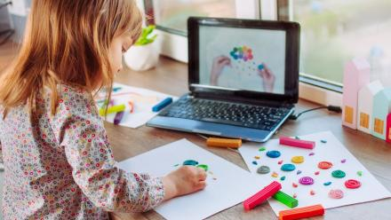 Online activities for children to keep them entertained at home