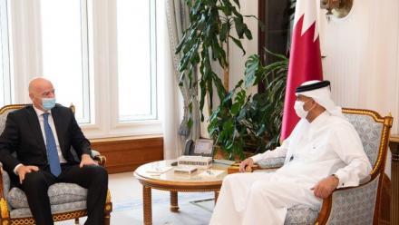 Qatar's Prime Minister meets FIFA President