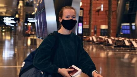 Bertens first to land in Doha for Qatar Total Open 2021