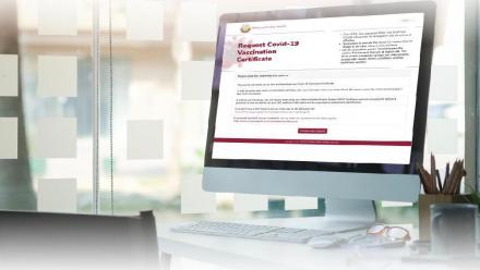How to download your COVID-19 vaccination certificate