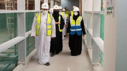 Health Minister visits National Health Lab project at Mesaimeer