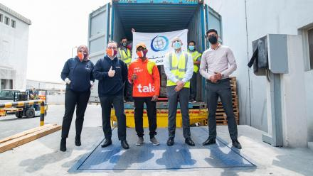 "Talabat exports its first shipment of ""Made in Qatar"" products to Kuwait"