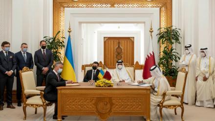 Qatar, Ukraine ink several agreements to boost ties