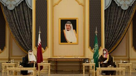 HH the Amir, Saudi Crown Prince hold talks in Jeddah