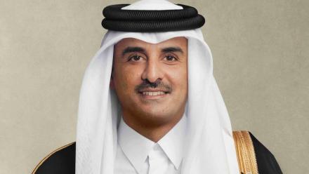 HH the Amir exchanges Eid greetings with leaders of Arab countries