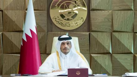 Qatar stresses united Arab stance in support of Palestinians
