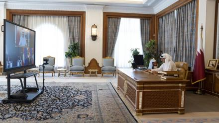 WATCH: HH the Amir speaks at the St. Petersburg International Economic Forum 2021