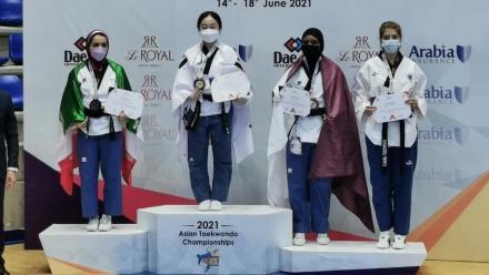Qatar take four medals at Asian Taekwondo Championships