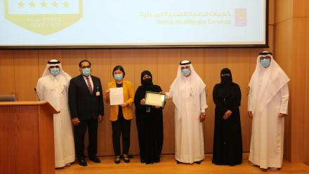 HMC awarded Gold Certification for Excellence in Person-Centered Care