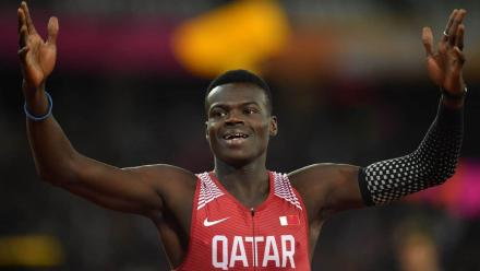 WATCH: 400m champion Haroun