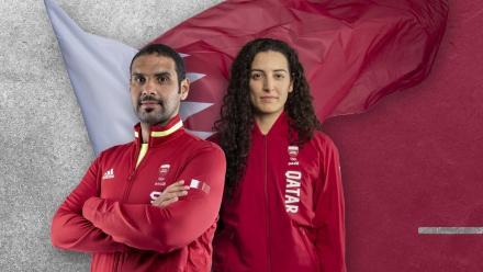WATCH: Mohamed Al Rumaihi, Tala Abujbara named Team Qatar's flagbearers for Olympic Games opening ceremony