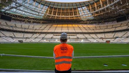 Qatar's FIFA World Cup final venue nears completion