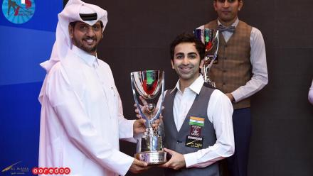 India's Advani crowned champion of 6-Red World Cup Qatar, claims 24th world title in Doha