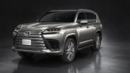 Lexus unveils the all-new LX600