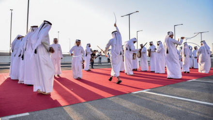 SC and stakeholders deliver a range of engaging fan activities to bring Al Thumama Stadium launch to life