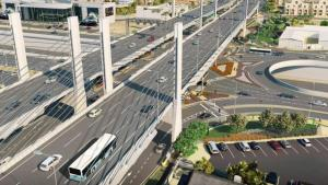 Construction of Qatar's first cable-stayed bridge starts