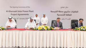 Qatar inks deal to set up QR1.7 billion solar power plant