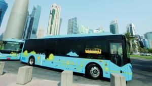 WATCH:25 percent of Qatar's public transport buses to go electric by 2022