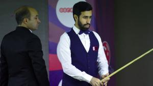 Four Qatari players advance into second round of Asian Snooker Championship