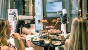 Community members attend Hilton Doha The Pearl's breast cancer awareness event