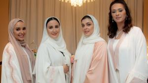LOVAH BY FATIMA: limited edition abayas launched in collaboration with four prominent women in Qatar for Breast Cancer Awareness Month