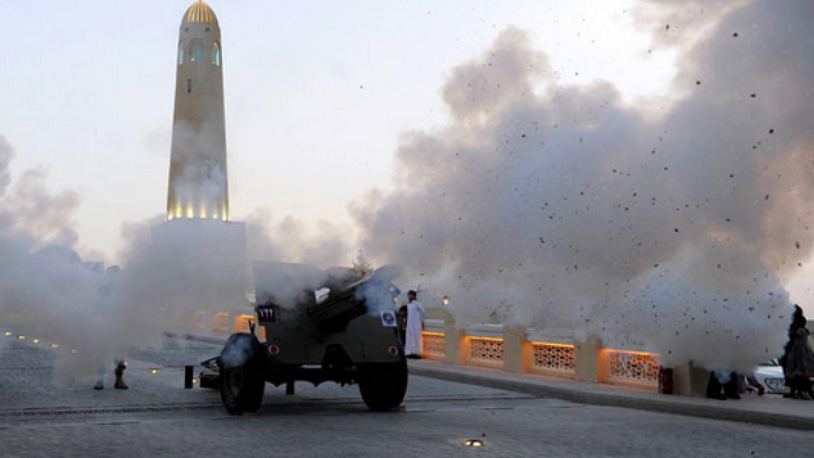 WATCH: Qatar's Ramadan cannon
