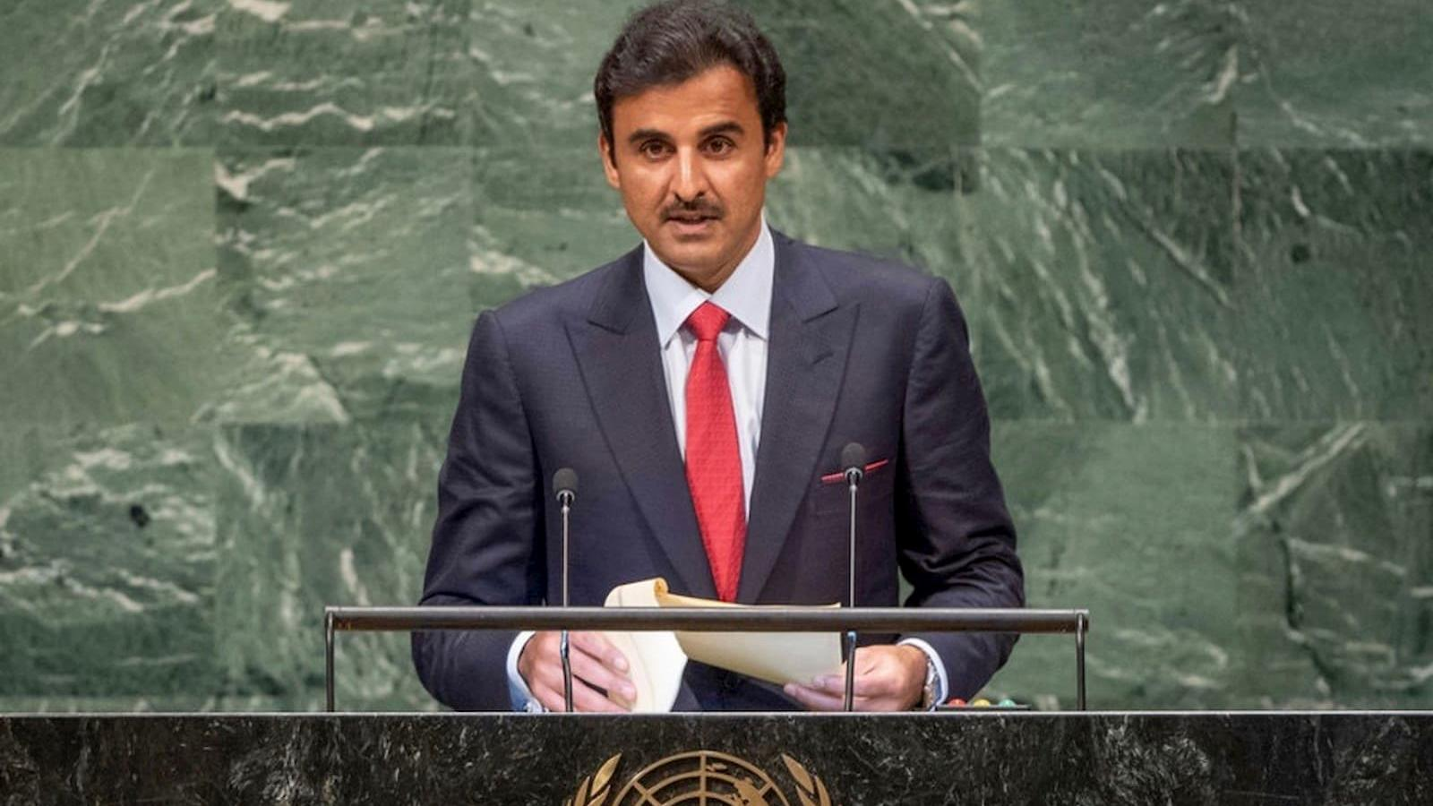 HH the Amir to address UN General Assembly, meet French president and British PM