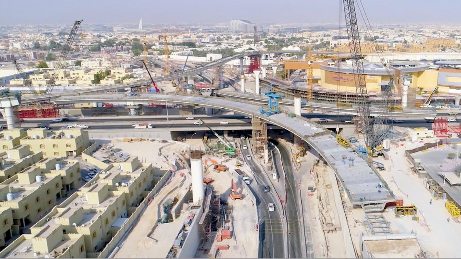 Qatar's largest interchange set to open partially by year-end