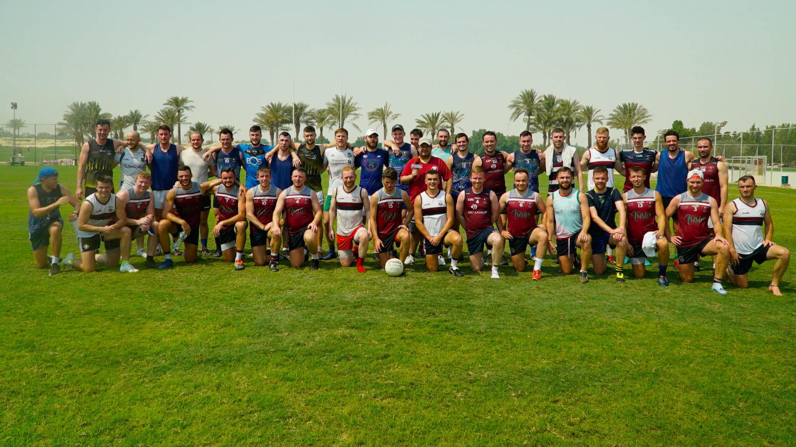 WATCH: QL Adventures visits Qatar's Gaelic football club