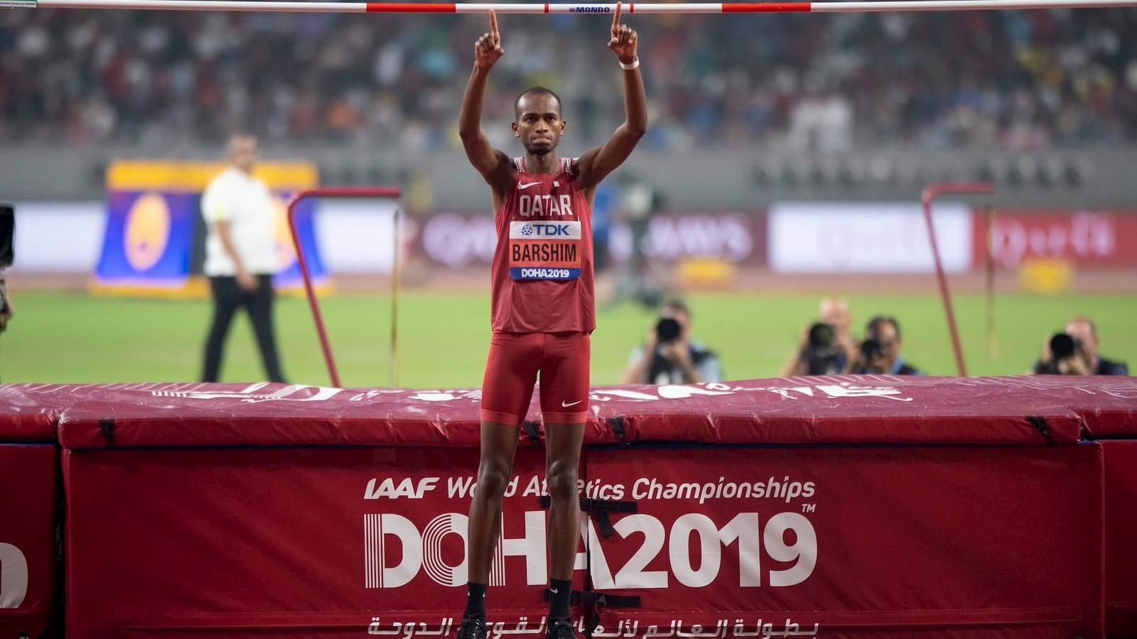 Barshim thrills with high jump gold at IAAF World Athletics Championships