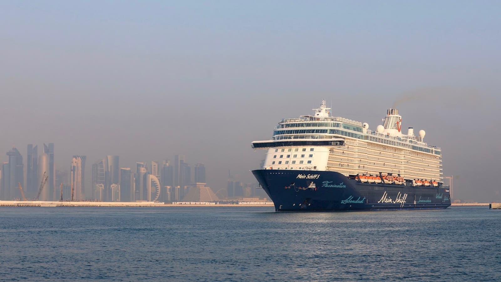New passenger terminal at Doha Port opens
