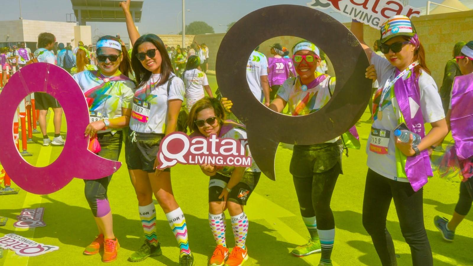 The sixth edition of the Color Run returns to Qatar this January
