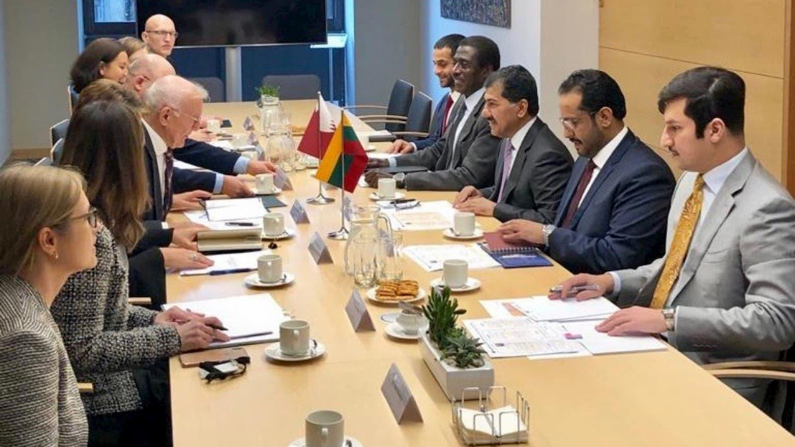 Qatar, Lithuania hold first political consultations