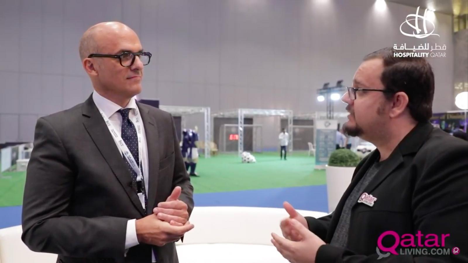 WATCH: Qatar Living chats with Javier Martinez at Hospitality Qatar 2019