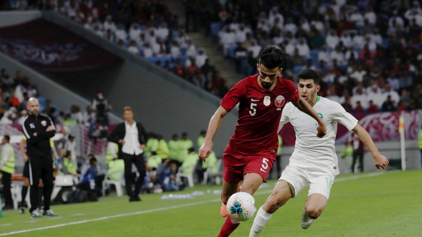 Qatar narrowly loses to Saudi in Arabian Gulf Cup semi-final