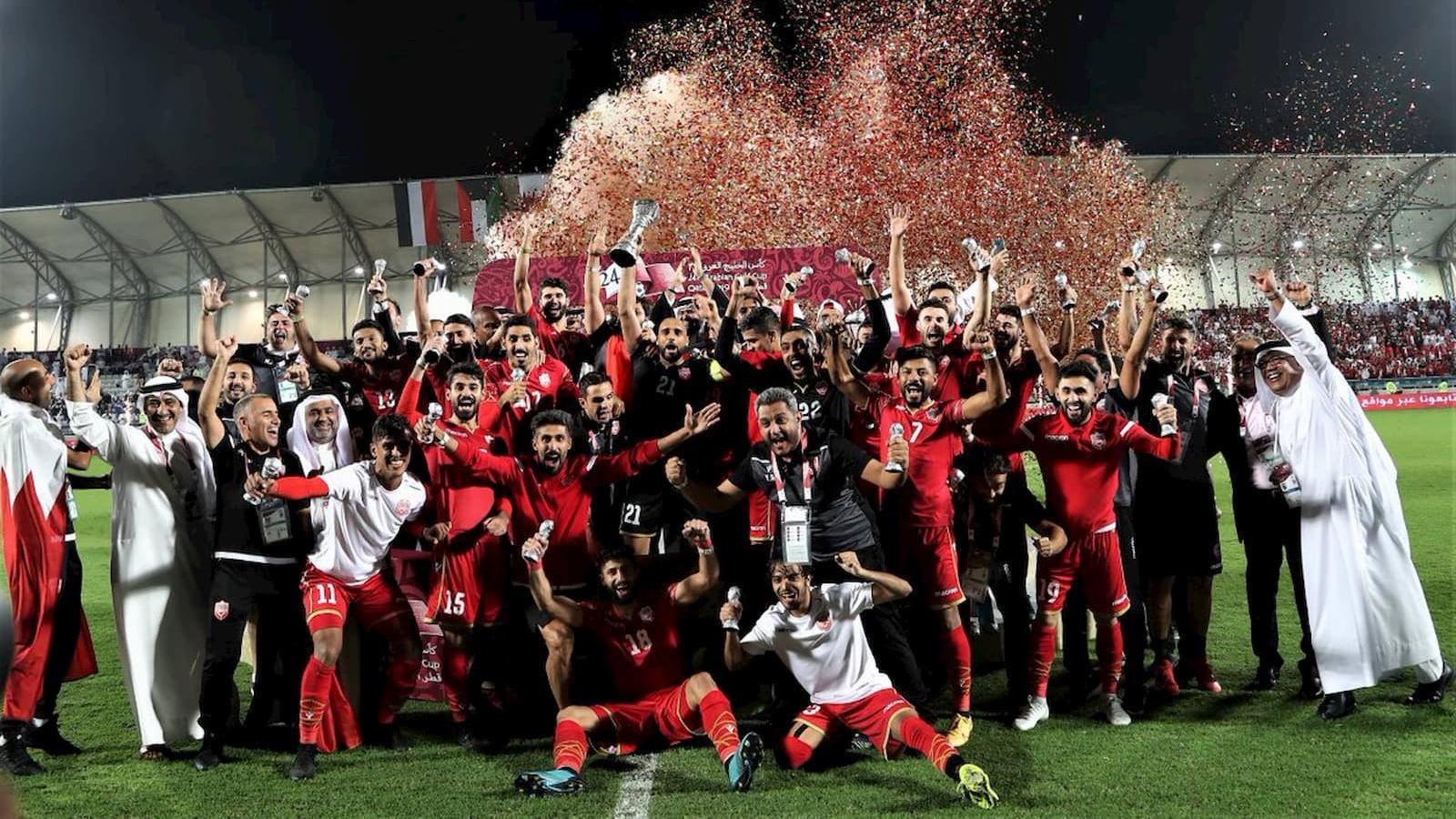 Bahrain defeat Saudi to claim Arabian Gulf Cup trophy
